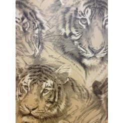 P+S International Tiger Head Wallpaper 45036-10
