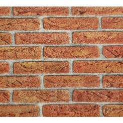 Rasch BeHappy Orange Brick Wall Effect 276811