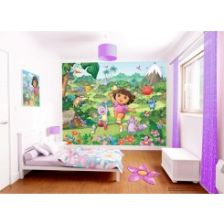 Walltastic Dora The Explorer Wallpaper Mural