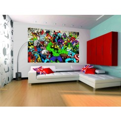 1Wall Marvel Comics Wallpaper Mural