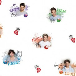 Fine Decor One Direction Wallpaper WP40174
