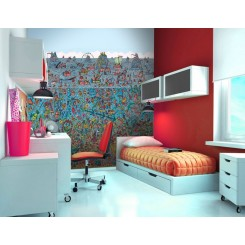 1Wall Wheres Wally Deep Sea Giant Wallpaper Mural