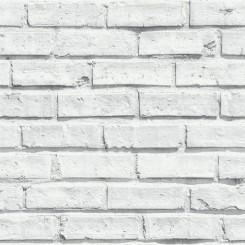 Arthouse VIP White Brick Wallpaper 623004