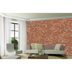 Loft Red Brick Wallpaper Mural DW-RFI1027