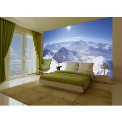 1Wall Snow Mountain wallpaper wall mural Mountain