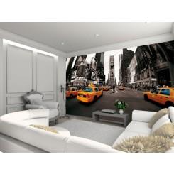 1Wall New York Taxi Wallpaper Mural Newyork-024