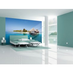 1Wall Maldives Island Wallpaper Mural W4P-DREAM-00